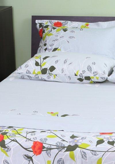 Комплект постельного белья Becker Вlossom двуспальный сатин