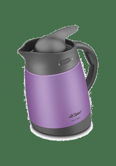 Термос с заварником для чая ARZUM DUOTERM (Фиолетовый)