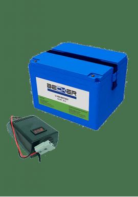 Комплект АКБ и ЗУ BECKER Li-Titan Kit A4