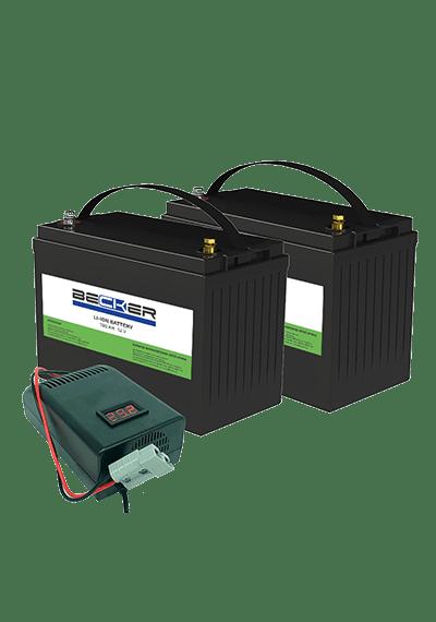 Комплект АКБ и ЗУ BECKER Li-ion Kit A5-CT40