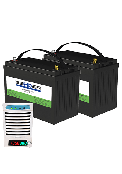 Комплект АКБ и ЗУ BECKER Li-Titan Kit A5+