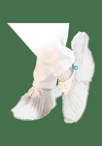 Бахилы PP с резиновой лентой STRONG (для аппаратов Hygomat)