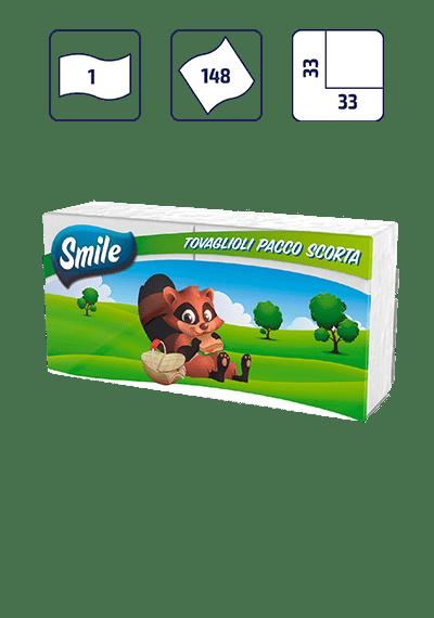 SMILE TOVAGLIOLI PACCO SCORTA