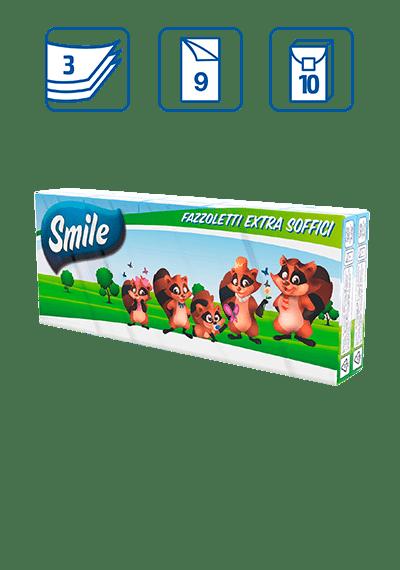SMILE FAZZOLETTI EXTRA SOFFICI
